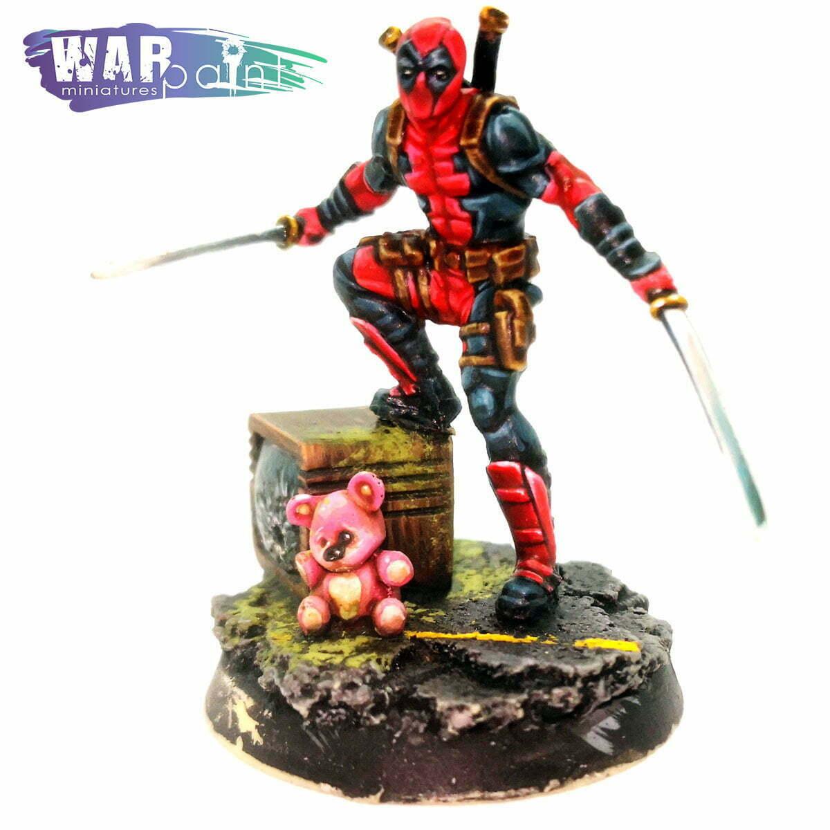 Deadpool-Xmen-Knight-Models